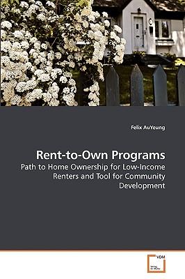 Vdm Verlag Rent-To-Own Programs by Auyeung, Felix [Paperback] at Sears.com